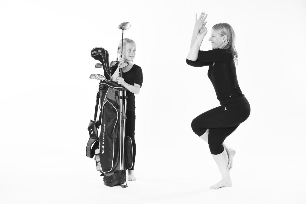 Golf trifft Yoga